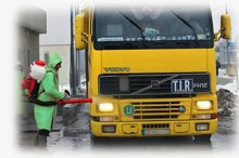 Санитарная обработка транспорта